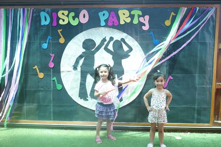 DISCO PARTY - INICIAL 2017